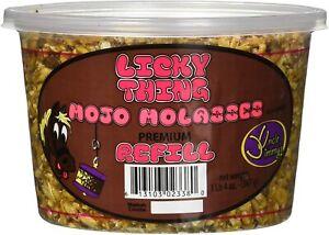 Uncle Jimmy's Licky Thing Mojo Molasses Premium Refill Horse Treat 1lb 4 oz.