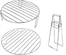 Halogen Oven Spares - High Rack, Low Rack & Tongs. Set for 12L /17L Cookers