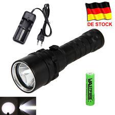 Diving 8000LM XM-L2 LED Tauchen Taschenlampe Torch 2*18650 Unterwasser bis 100