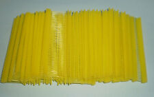 "5000 Yellow 1"" Clothing Garment Price Label Tagging Tagger Gun Barbs Fasterners"