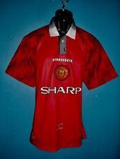 1996-98 Manchester United Home Football Shirt [Size XXLarge]