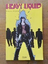 Heavy Liquid by Paul Pope, 2008 Vertigo Graphic Novel, AMAZING ART! THB Creator!