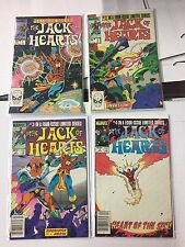 JACK OF HEARTS #1-4  Marvel Comics