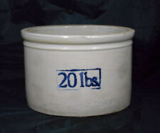 Vintage Red Wing Stoneware 20 Pound Butter Crock