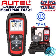 Autel MaxiTPMS TS501 TPMS ID Clone Reprogram Car Scanner Tire Pressure Sensor UK