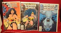 Wonder Woman 1997 DC Comics Gallery, #101 and #102 3 Pc. Lot Comic Books