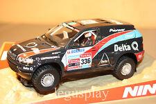 SCX Scalextric Slot Ninco 50562 BMW X5 Team Delta Q Dakar 2010