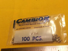 100 / Pack - Cambion Solder Turret  MPN 160-2753-2 Factory Sealed Pack