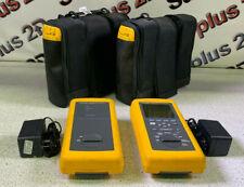 Fluke Dsp 100 Lan Cablemeter Amp Dsp Sr Smart Remote