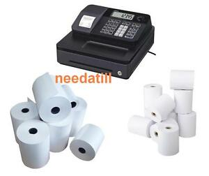TILL ROLLS TO FIT - Casio SE-G1 Black Cash Register SEG1 SEG-1 SE G1
