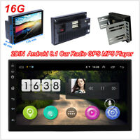 Android 8.1 7inch 16GB Car Radio GPS Navigation Audio Stereo DVR WiFi MP5 Player