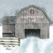 Billy Jacobs Cut Your Own Christmas Tree Barn Art Print  12 x 12