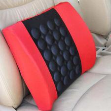12V Car Electric Lumbar Seat Back Massage Cushion Home Chair Waist Support Tool