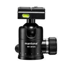 Mantona Onyx 12 boule (m1-3612a), Arca-Swiss Compatible, capacité de charge: 12 kg