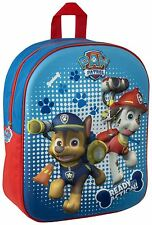 Paw Patrol 3D Image Backpack Chase & Marshall Kids School Junior Bag for Nursery