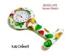 In Silicone Quarzo Orologio Infermiera Medico FASHION Spilla Tunica Fob Bug Life