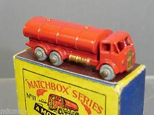 MATCHBOX  MODEL No.11a  E.R.F. 'ESSO'  ROAD TANKER MIB