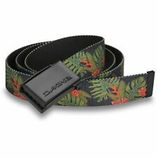 Dakine Belt - Jungle Palm Belt - RRP £15 - Canvas Webbing, Clasp Buckle