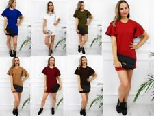 Party/Cocktail Short Sleeve Solid Dresses for Women's Shift Dresses