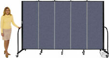 Screenflex Freestanding Room Dividers 6-0 x 24-1 Portable Partition Screens