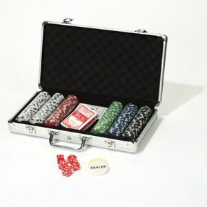 Play Poker Suitcase Poker Chips Casinowürfel Playing Cards Dice