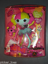 NEW Lalaloopsy LALA-OOPSIES Doll PRINCESS SAFFRON w/ Soft Head & Bendy Legs!