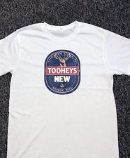 TOOHEYS NSW NEW DRAUGHT BEER T SHIRTS/ T-SHIRTS / T SHIRT WHITE,BLACK,GREY S-2XL