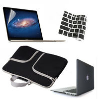 """Hard Case Shell+Carry Bag+Keyboard Cover+LCD Film Set for Macbook AIR 13.3"""" Inch"""