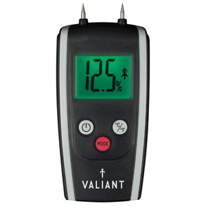 Valiant Moisture Meter, Colour Changing for Accurate reading and Cleaner Burn
