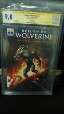 Return of Wolverine #1 Excl. Scorpion Comics,CGC SS,9.8.Signed BY Clayton Crain!
