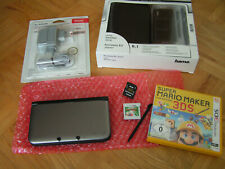 Nintendo 3DS XL & 2 3DS Spiele: RollerCoaster Tycoon 3D & Super Mario Maker 3DS!