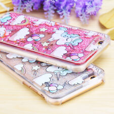 Luxury Unicorn Dynamic Glitter Quicksand Case Cover For iPhone & Samsung Phones