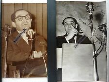2 PHOTOS PRESSE 1959 MENDES FRANCE T862