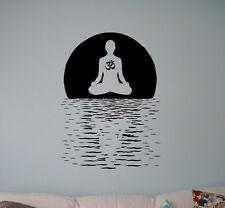 Namaste Yoga Wall Vinyl Decal Hindu India Yoga Vinyl Stickers Home Interior 32