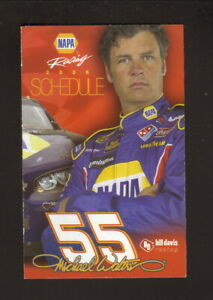 Nextel Cup--Michael Waltrip--2006 Pocket Schedule--NAPA