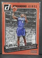 2015-16 Donruss Rebounding Kings Chris Webber Sacramento Kings Insert Card #30