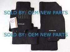 2014-2016 Nissan Rogue Carpet Floor Mats Genuine 4 pc set.Black p/n: 999E2G2000