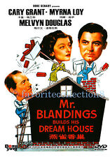Mr. Blandings Builds His Dream House (1948) - Cary Grant, Myrna Loy - DVD NEW