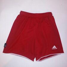 Boys Adidas Shorts Medium Red Elastic Waist Basketball Athletic