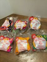 2000 MCDonalds TIGGER MOVIE Clips Complete SET Happy Meal Toys SEALED