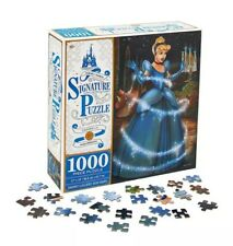Disney Parks Signature 70th Anniversary Cinderella Signature Jigsaw Puzzle New