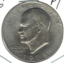 1978 Philadelphia IKE Brilliant Uncirculated Dollar Coin!