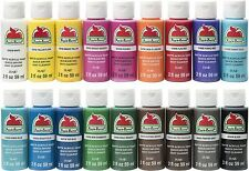 Apple Barrel Matte Satin Gloss Acrylic Paint Assorted Colors Create your own set