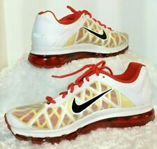 Nike Air Max 2011 Mens Size 11 M  white red yellow Shoes 429889-106