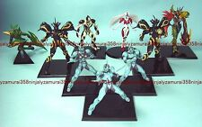 Bio Boosted Armor Guyver Trading Mini Figure Set of 9 Part 1 Max Factory anime
