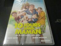 """DVD NEUF """"10 DIX JOURS SANS MAMAN"""" Franck DUBOSC, Aure ATIKA"""