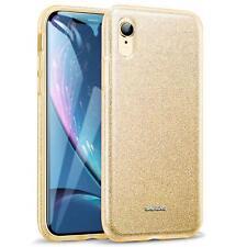 Téléphone Portable Housse Pour IPHONE XR Etui Coque en Silicone Scintillant Slim