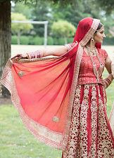 punjabi indian wedding lengha traditional - Jewelry Included