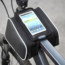 """Fahrradtasche Handy Rahmentasche Oberrohrtasche für 5,5"""" Smartphone Touchscreen"""