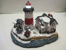 Harbour Lights Christmas 2003 Stratford Point Led Lighthouse Hl717 Hand-Numbered